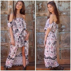 Fernweh Boheme Pants - Off Shoulder Maxi Romper